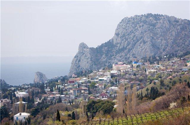 Гора Кошка в Крыму на Украине