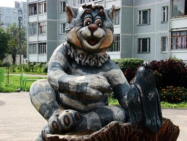 Памятник коту в воронеже фото цена на памятники цены фото луга