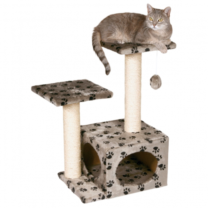 Кошке дом своими руками видео