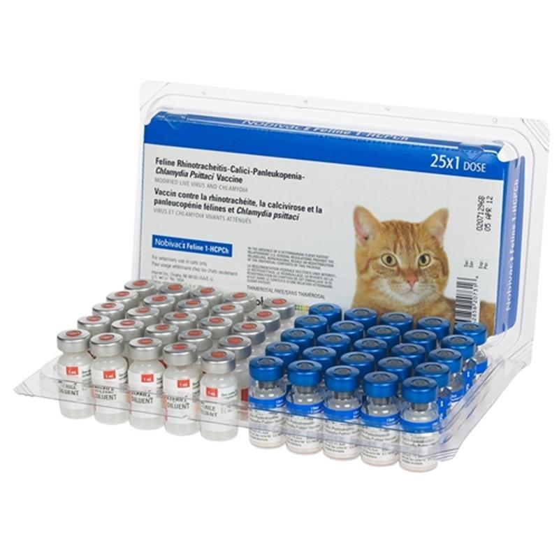 Вакцины «Нобивак» для кошек